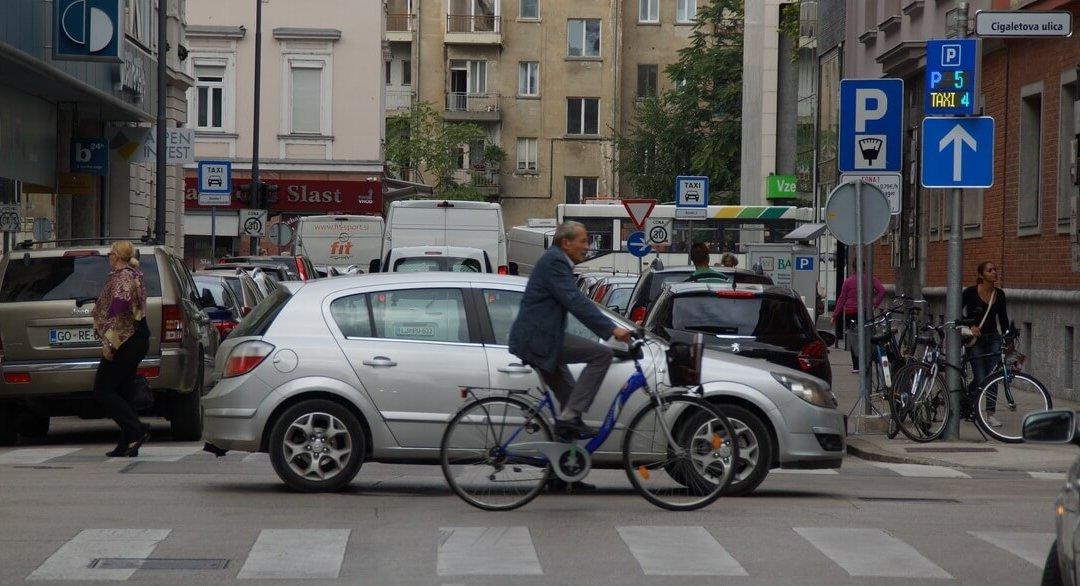 Pameten parkirni sistem v Mestni občini Ljubljana