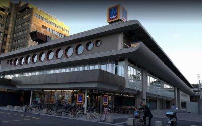 Nov parkirni sistem Hofer na Dunajski cesti pri razstavišču